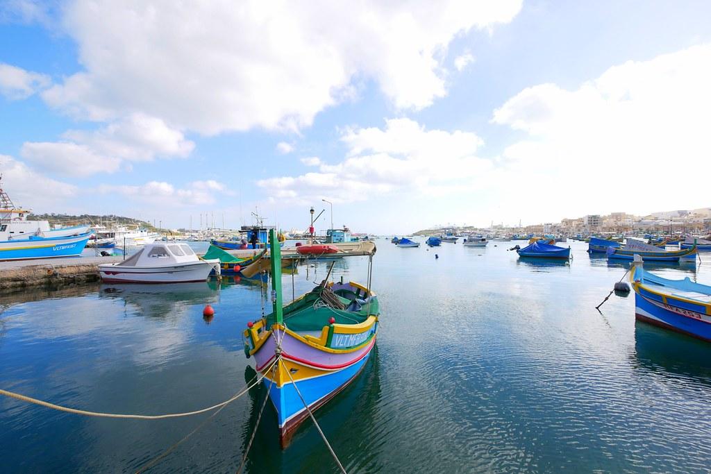 Malta馬爾他:Marsaxlokk 馬爾薩什洛克~五彩繽紛的小漁村,如油畫般的唯美浪漫 @ 飛天璇的口袋 :: 痞客邦