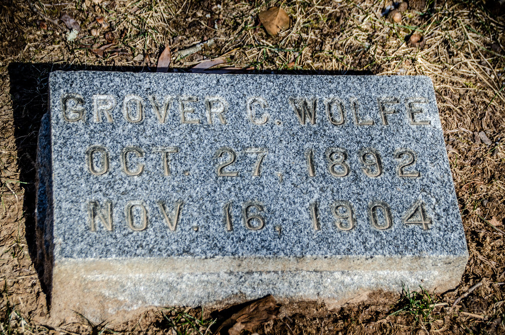 Grover Wolf Grave