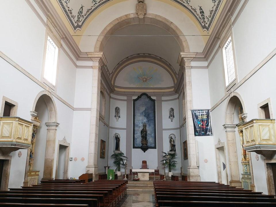 altar mayor interior Iglesia Matriz Albufeira Algarve Portugal 05