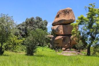 Deze drie stenen zagen we namelijk elke dag, dus wilden we ze ook in het echt zien.