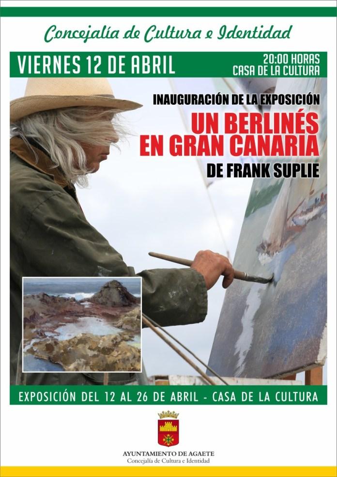 Agaete expone la obra del pintor Frank Suplie