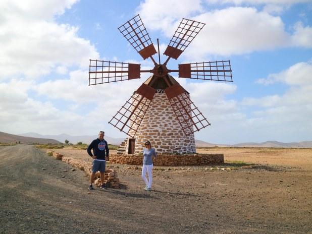 El mejor molino de la ruta por Fuerteventura