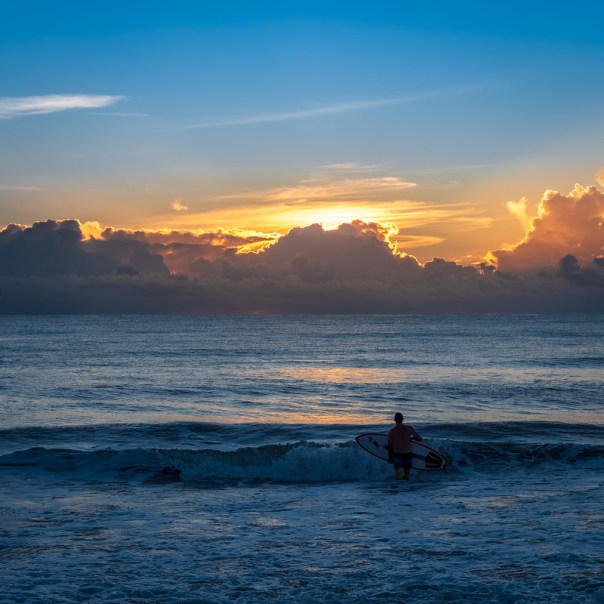Sunrise Surfer