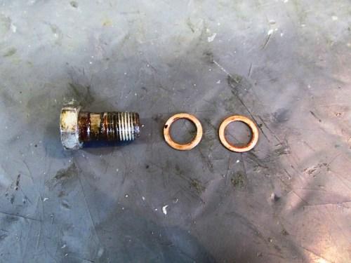Master Cylinder Banjo Bolt Detail