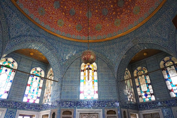 Baghdad Kiosk Dome, Topkapı Palace
