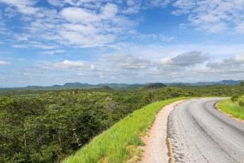 We gingen op weg naar alweer onze laatste halte in Zimbabwe.