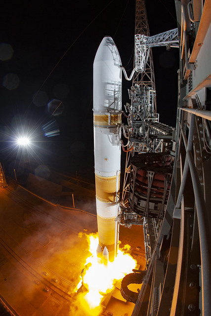Liftoff! Delta IV WGS-10