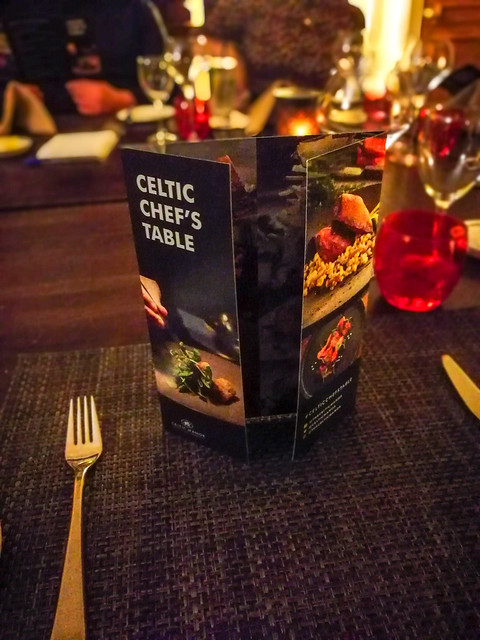 Celtic Manor Chef's Table