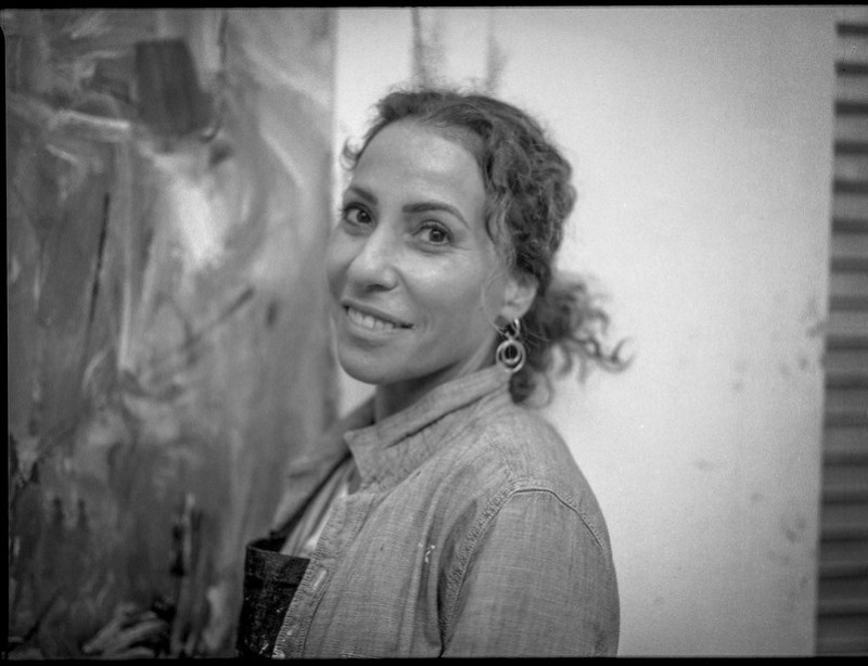 artist Giselle Fenig, Atlantic Center for the Arts, New Smyrna Beach, FL, Mamiya 645 Pro, mamiya sekor 90mm f-2.8, 2.5.19