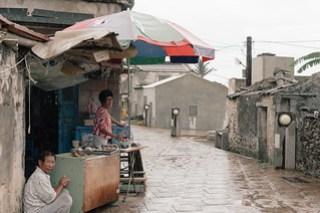 Village vendor on Qimei island (七美望安), Penghu