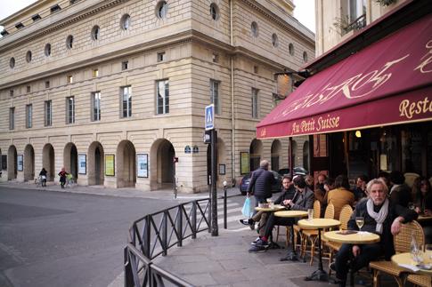 19d05 Anochecer en el barrio de St Germain a Odéon Odeón_0018 variante Uti 485