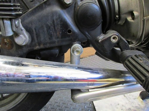 Rear Brake Pedal Pivot Bolt