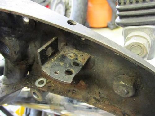 Rear Brake Light Switch Bracket
