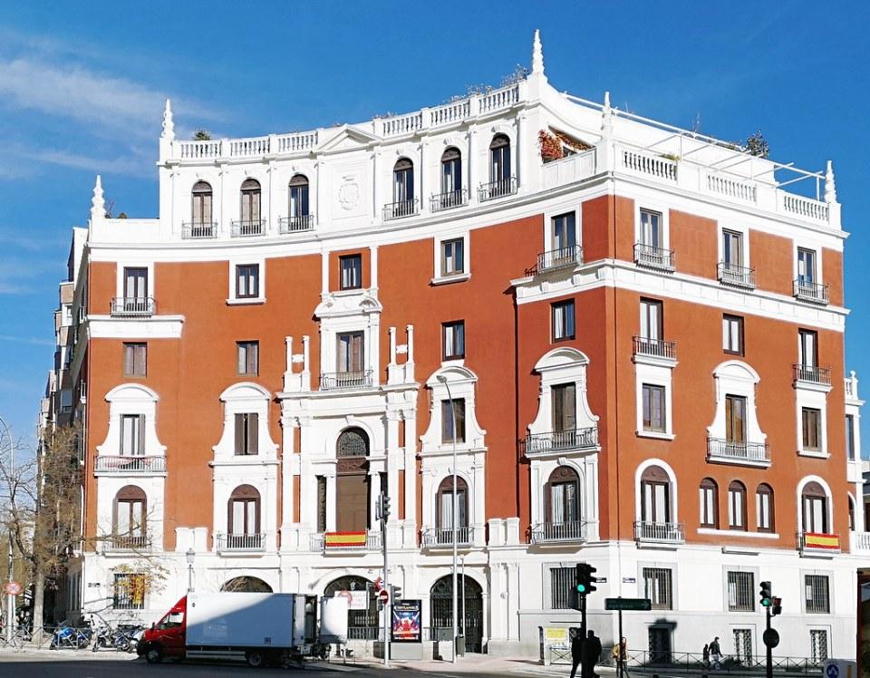Palacio del Marques de Ibarra plaza Ruben Dario Madrid 02