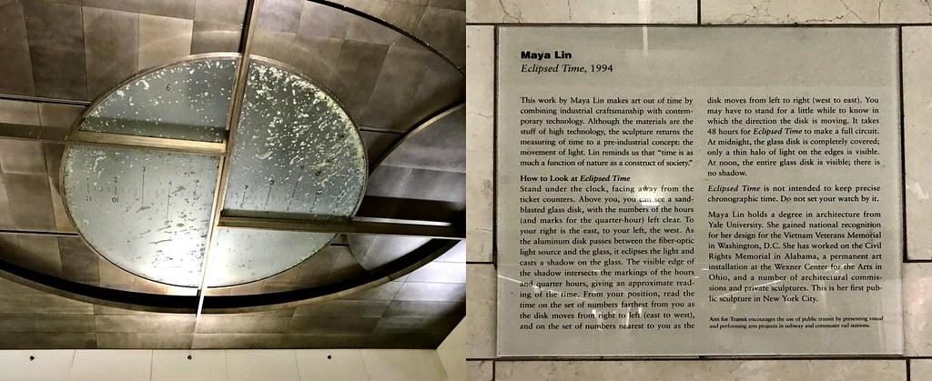 Eclipsed Time Maya Linn At Penn Station I Wonder How