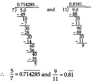 NCERT Solutions for Class 9 Maths Chapter 1 Number System