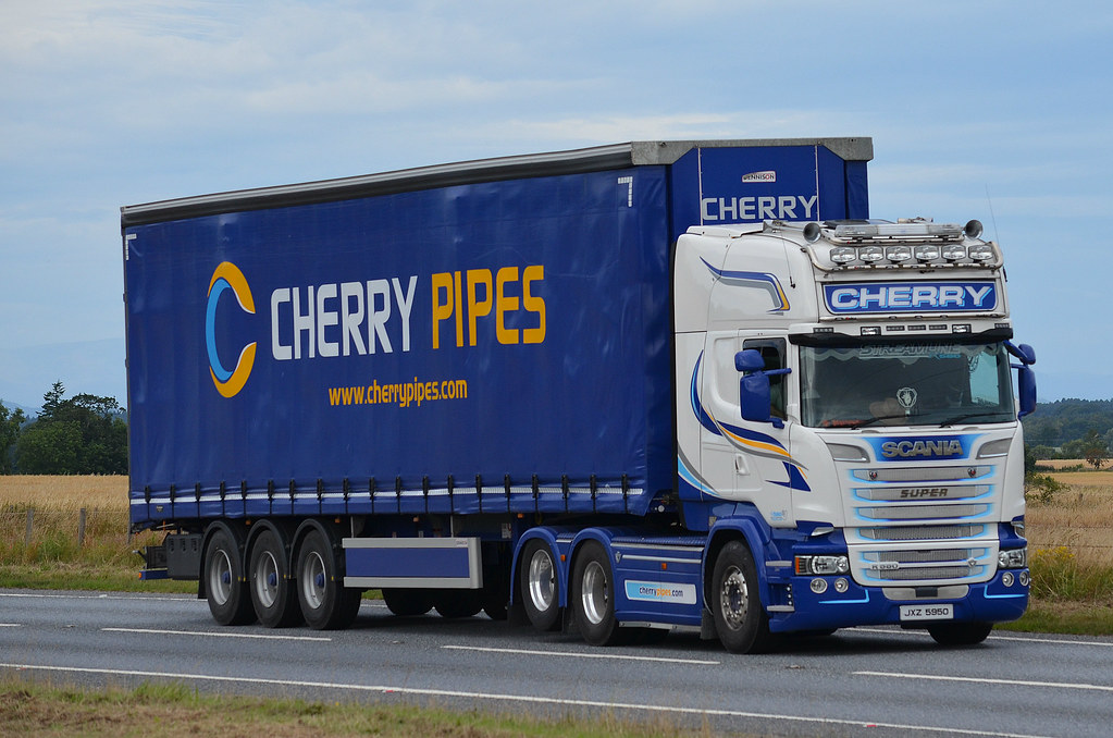 cherry pipes scania r580