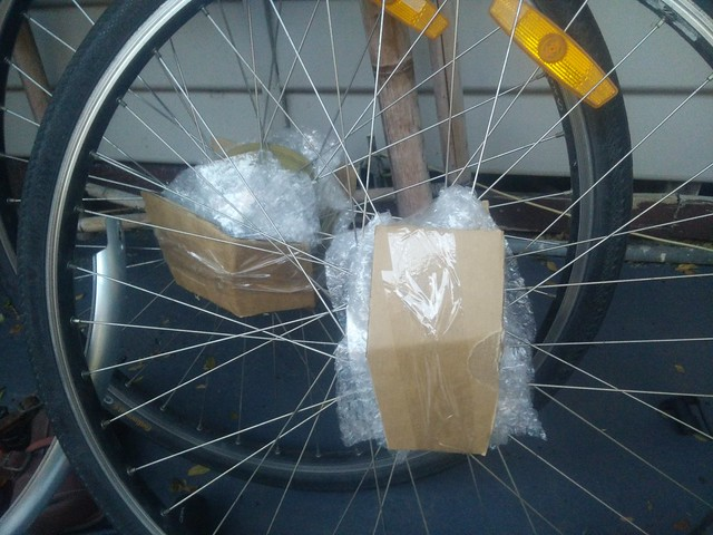 Packing and transporting my bicycle to China