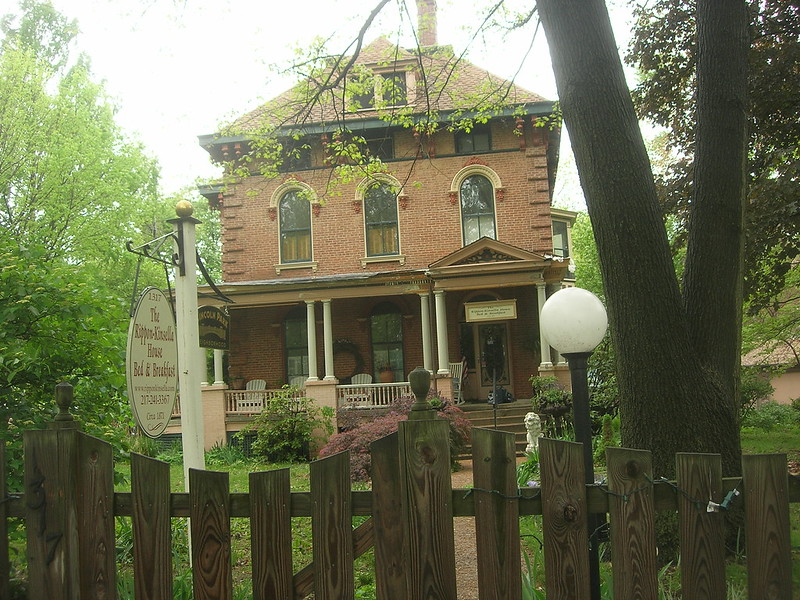 Rippon-Kinsella House in Springfield, Illinois