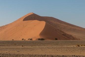 Dit is Dune 45 (45 km vanaf de ingang), Wereldberoemd, 170 meter hoog en ongeveer 5 miljoen jaar oud.