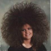 crazy big 80's hair alexis brown