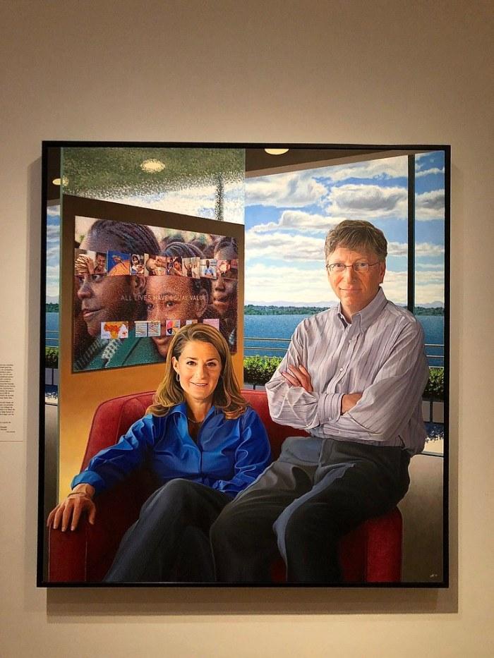 Bill and Melinda Gates - NPG Washington DC