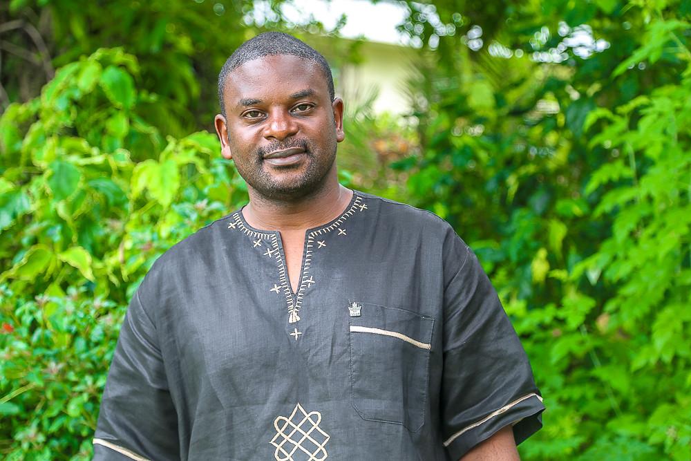 Fred Kizito (IITA-CIAT). Photo credit: Bevin Bhoke/IITA.