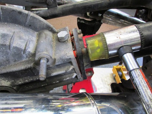 Separating Rear Drive From Swing Arm