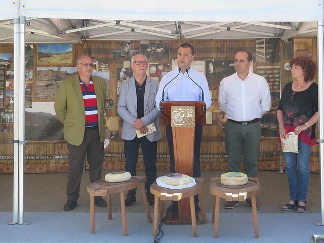 La Fiesta del Queso se vincula este año a la Alta Cocina para resaltar la excelencia del producto estrella de la gastronomía canaria