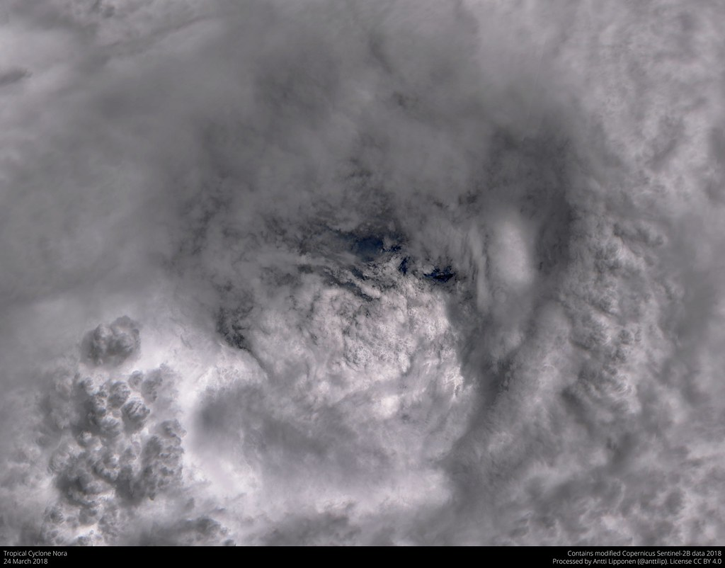 hight resolution of  tropical cyclone nora 2018 03 24 by anttilipponen