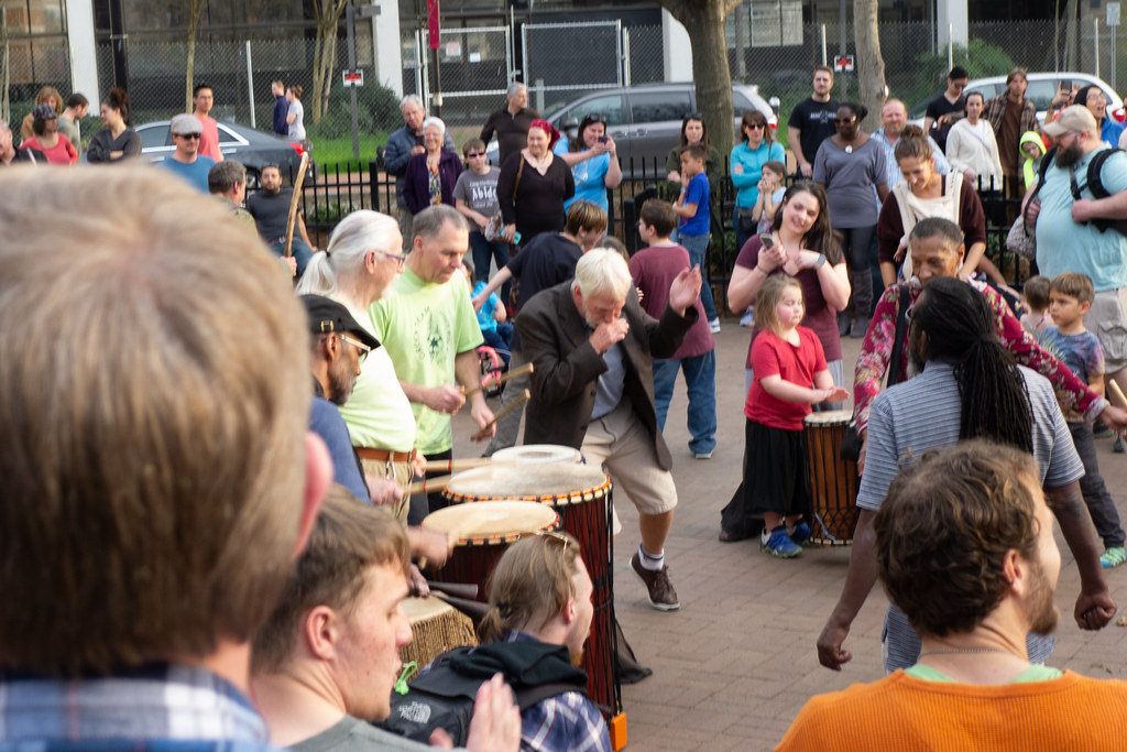 Asheville Drum Circle-53