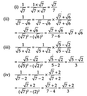 NCERT Solutions for Class 9 Maths Chapter 1 Number Systems Ex 1.5 A5