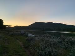 Connemara Lakes sunset