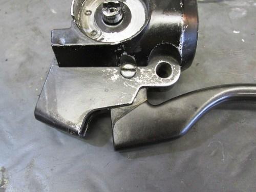 Left Handlebar Control Lever Pivot Pin