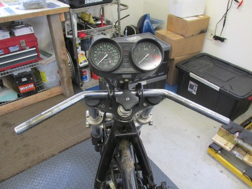 Ready To Remove Handlebar and Instrument Cluster