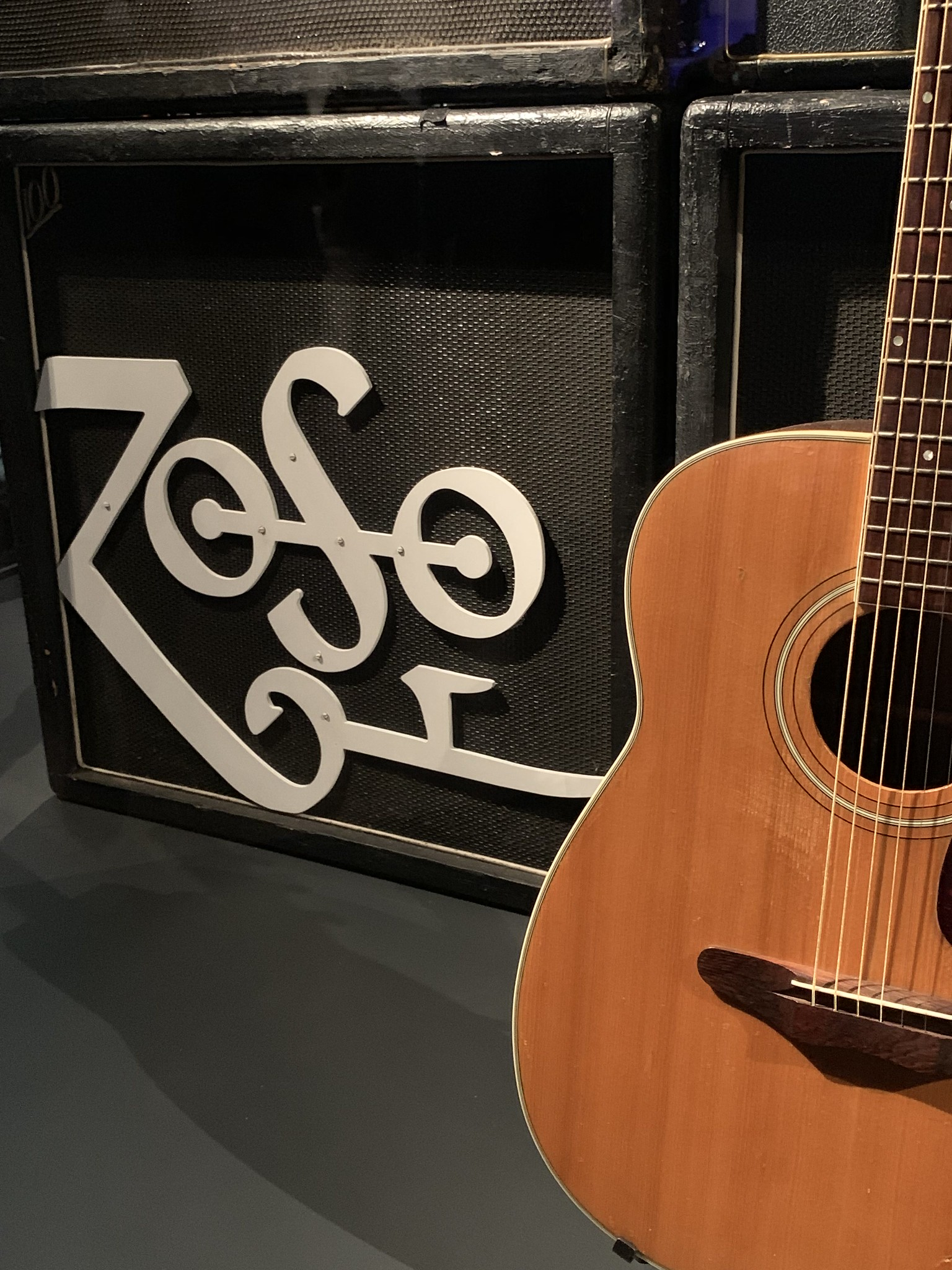 Detail on Jimmy Page's Rig