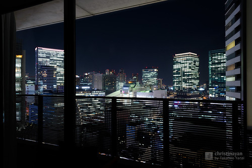 City view from balcony. Harmonie Embrassee Osaka (アルモニーアンブ… | Flickr