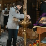 2018 03 18 Cleaning the temple after Sunday Liturgy
