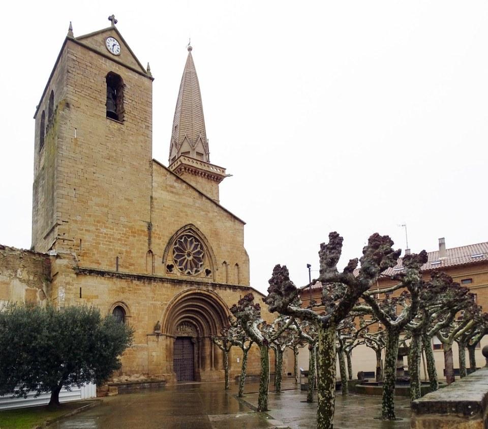 Olite Iglesia de San Pedro Navarra 01