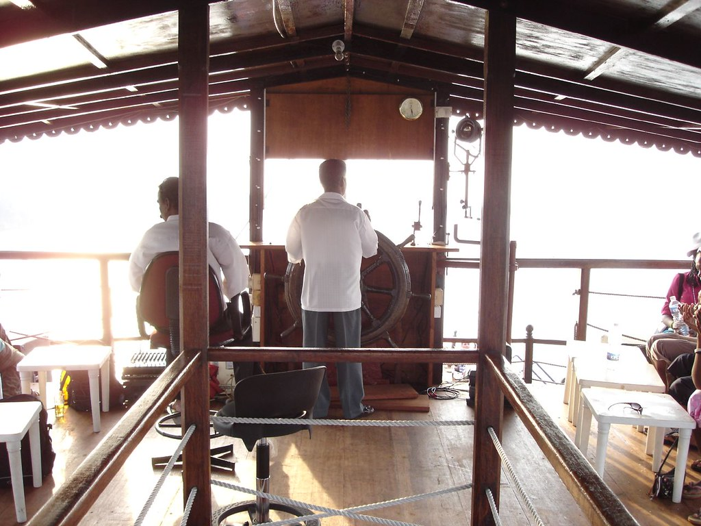 Onboard the Dhow