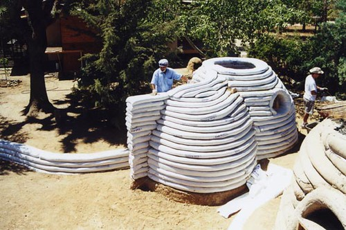 Image result for Earthbag building material