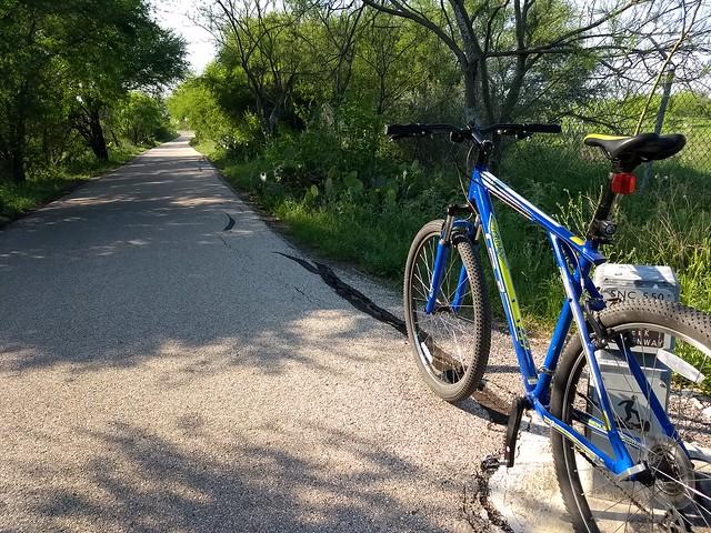 Biking the Salado Creek Greenway in San Antonio