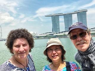 Our tour guide, Singapore