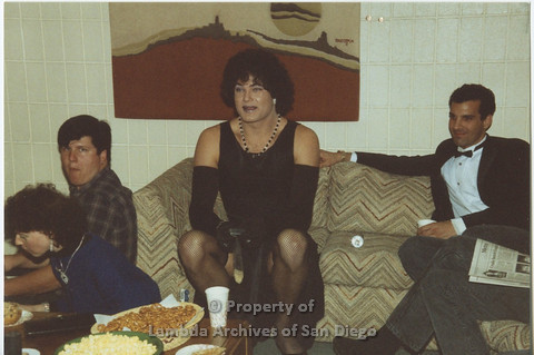 AIDS Foundation of San Diego: 1989 - Halloween Party.