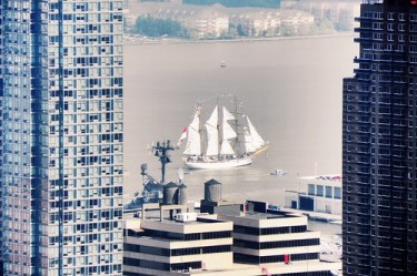 Tall ships out my window - 2