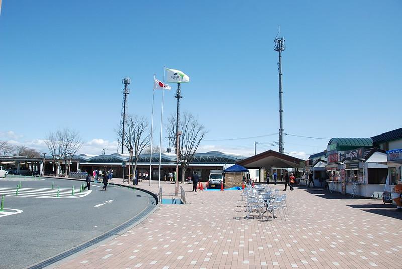 Área de servicio en Takasaki