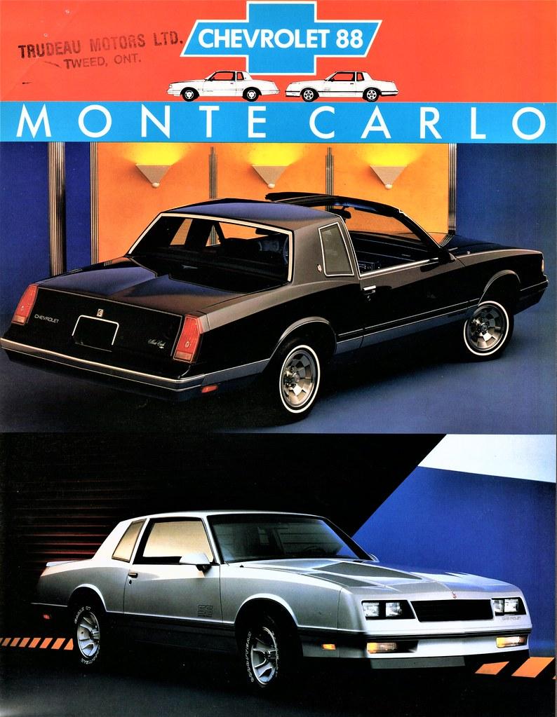 Monte Carlo Car 1988 : monte, carlo, Chevrolet, Monte, Carlo, Coupes, (Canada), Flickr