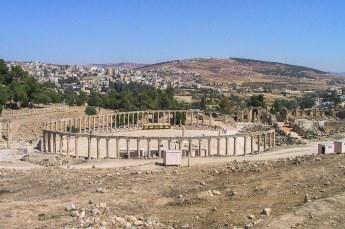 Jerash wordt gezien als het grootste en best bewaarde voorbeeld van Romeinse architectuur buiten Italië.