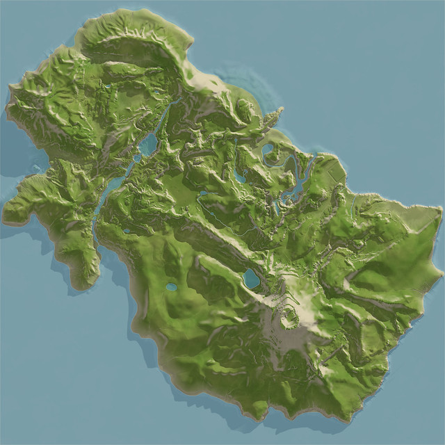Island Render 4096