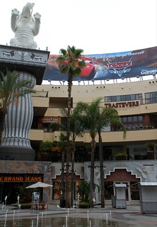 Behind the Dolby Theatre